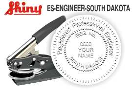 South Dakota Engineer Embossing Seal