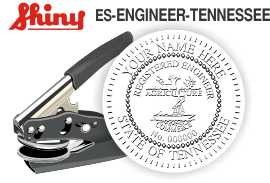 Tennessee Engineer Embossing Seal