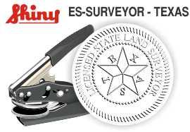Texas Licensed Surveyor Embossing Seal
