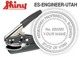Utah Engineer Embossing Seal