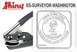 Washington Surveyor Embossing Seal Surveyor Seal