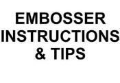 Embosser Instructions