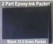 Black Epoxy Ink 12.5 Gram Packet