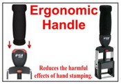 Ergo Handle for Numbering and Date Machines