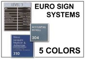 EURO-SIGN-SYSTEM - Euro Sign Systems, The Simple Sign Solution - Quote Only