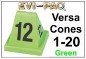 Versa-Cones Green 1-20