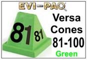 Versa-Cones Green 81-100
