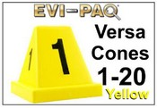 Versa-Cones Yellow 1-20