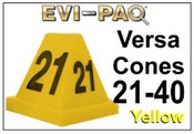 Versa-Cones Yellow 21-40
