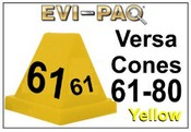 Versa-Cones Yellow 61-80