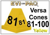 Versa-Cones Yellow 81-100