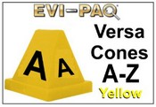 Versa-Cones Yellow A-Z