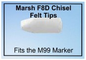 Marsh 99 Marker Chisel Replacement Tips