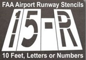 Taxiway Stencils