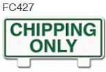 Chipping Only Golf Sign