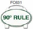 90 Degree Rule Golf Sign