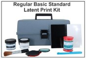 Basic 2 Standard Latent Print Kit - Tape & Backing Cards