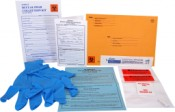 Partial Case - Suspect DNA Buccal Swab Collection Kit