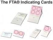 FTA Indicating Mini Card - 2 Circles - 100/pkg.