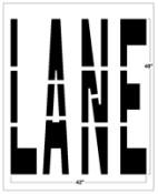 LANE Federal Spec Stencil