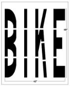 BIKE Federal Spec Stencil