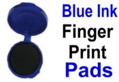 No. 1 Blue Fingerprint Ink Pad