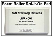 "JR-50 Rol-It-On Ink Pad, 3-1/2""x7""