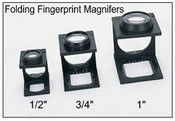 6X Folding Fingerprint Magnifier