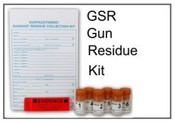 GSR Gun Surface Residue Collection Kit
