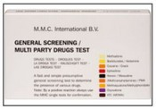 MMC General Screening/Multi-Party Drug Test - 10 ampoules/box