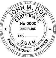 Guam Engineering Stamp
