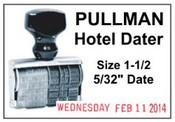0 Pullman Hotel Line Dater