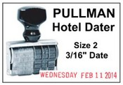 2 Pullman Hotel Line Dater