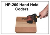 HP-200 Hand-Held Coders