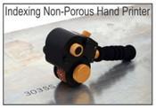 HPNP-100 Indexing Non-Porous Hand Printer