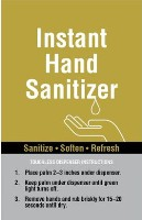 Hand Sanitizer Sign Graphics