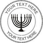 Custom Hanukkah Embosser