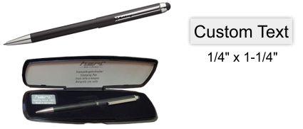 Heri Stamp Pen Black Stamping Pen w/Case
