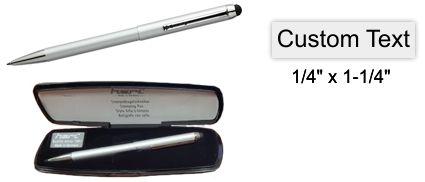Heri Stamp Pen Silver Stamping Pen w/Case