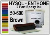 Hysol Epoxy Ink 50-600 Quart Brown, 6 quart pack