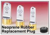 Inspection Neoprene Plug