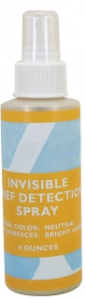 Invisible Thief Detection Spray