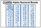Justrite Alpha Numeral Replacement Bands Justrite Alphanumerical Bands Justrite Alphanumerical Replacement Bands