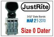 Justrite Line Dater JustRite BD-0 Line Dater