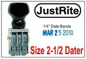 PD-2-1/2 Pullman Line Dater Justrite Line Dater JustRite BD-2-1/2 Line Dater