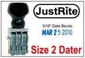 PD-2 Pullman Line Dater Justrite Line Dater JustRite BD-2 Line Dater