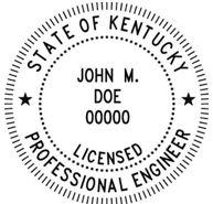 Kentucky Engineering Stamp
