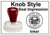 Knob Seal Impression Inker