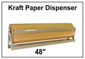 Kraft Paper Roll Dispenser 48""