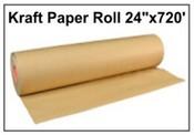 """Kraft Paper 24""""x720' Roll"""